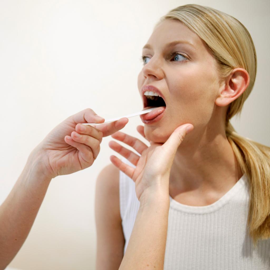 Лечение кашля при хроническом тонзиллите