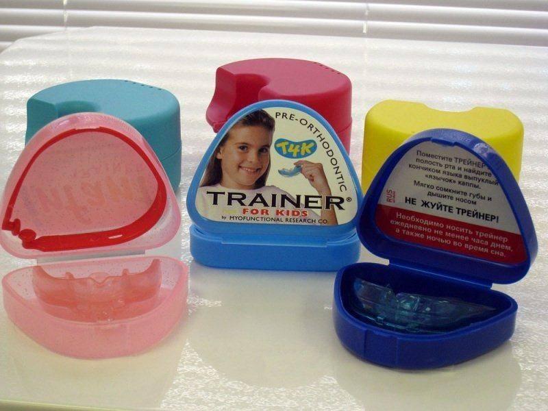 Трейнеры для зубов: цена на различные виды