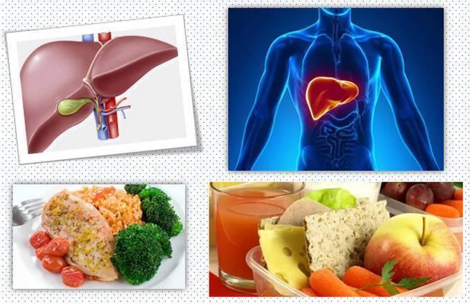 диета при раке печени меню