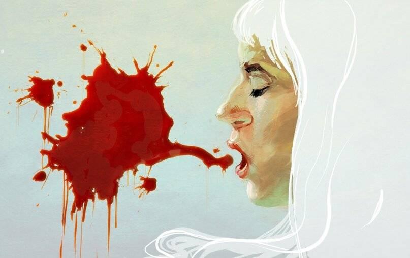 кровь при кашле причины