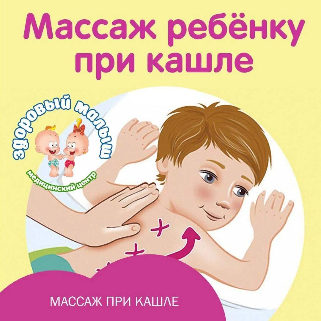точечный массаж при кашле у взрослых