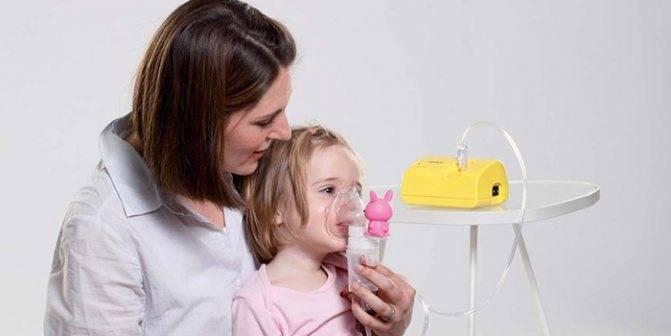 Ингаляции при аденоидах у детей небулайзером растворы