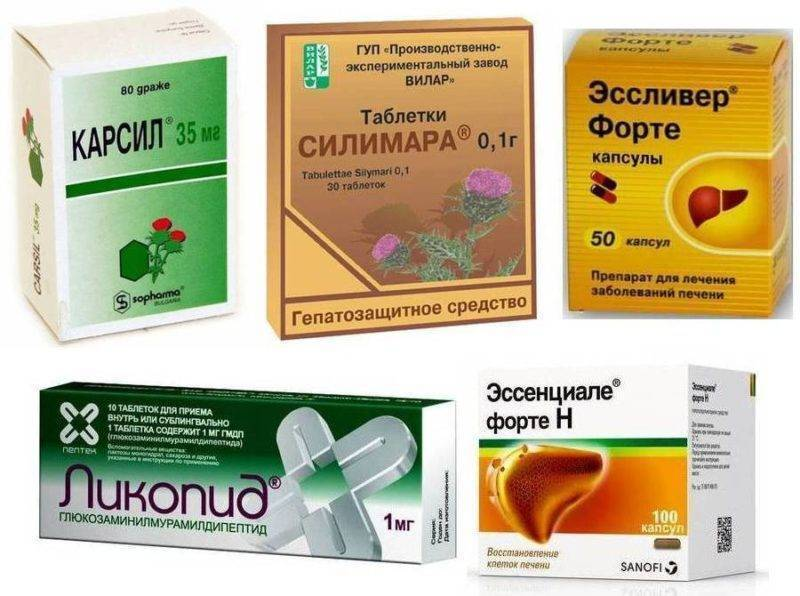 Восстановление печени после алкоголя: таблетки и лекарства