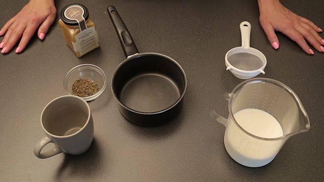 Шалфей с молоком от кашля