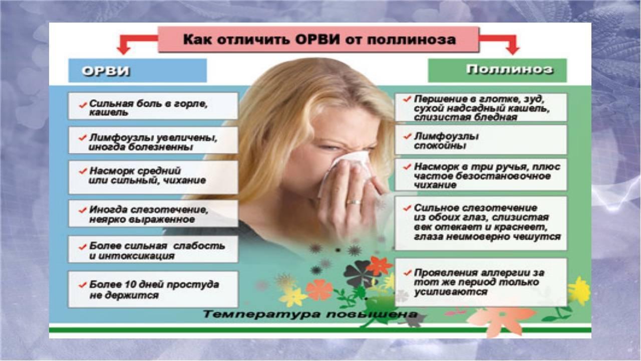 Как определить аллергический насморк и отличить его от простудного?