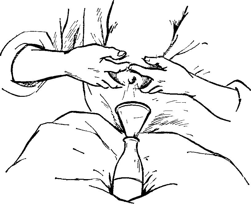 как убрать застой молока