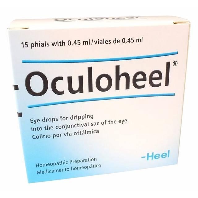 Окулохель – глазные капли гомеопатические, инструкция по применению