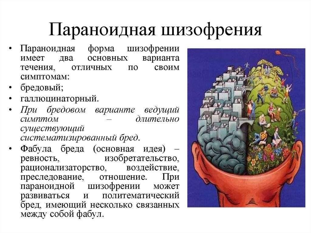 Параноидная шизофрения — википедия с видео // wiki 2