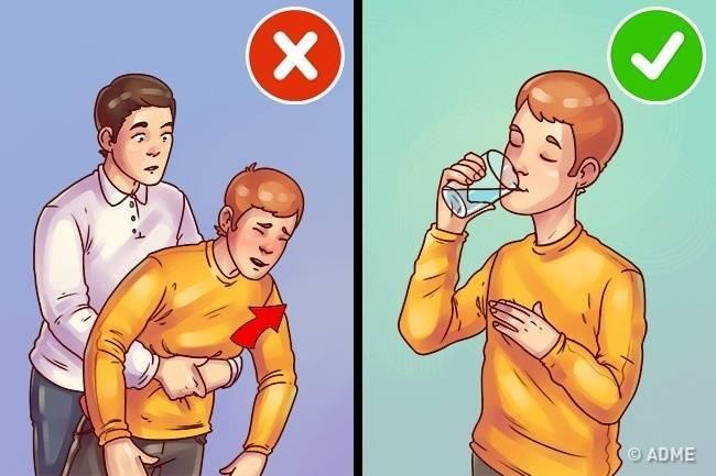 Таблетка застряла в носоглотке что делать. застрявшая в пищеводе таблетка: возможно ли это, в каких случаях, как с этим справиться