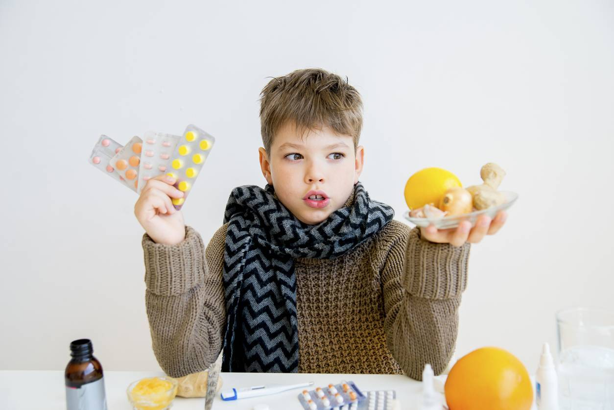 Как лечить ребенку оставшийся кашель