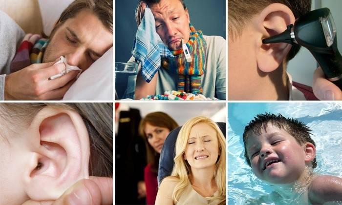 заложенность уха лечение в домашних условиях