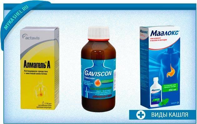 Симптомы и лечение желудочного кашля