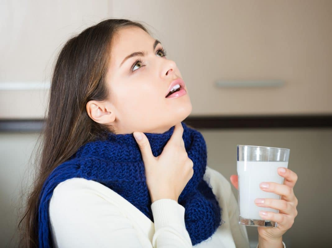 Лечение горла у детей в домашних условиях народными средствами
