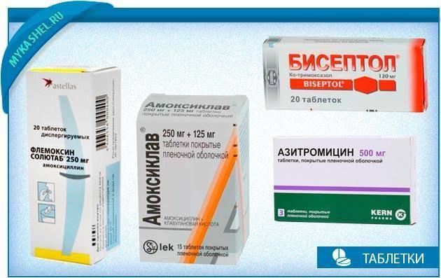 Лечение кашля у взрослых антибиотиками
