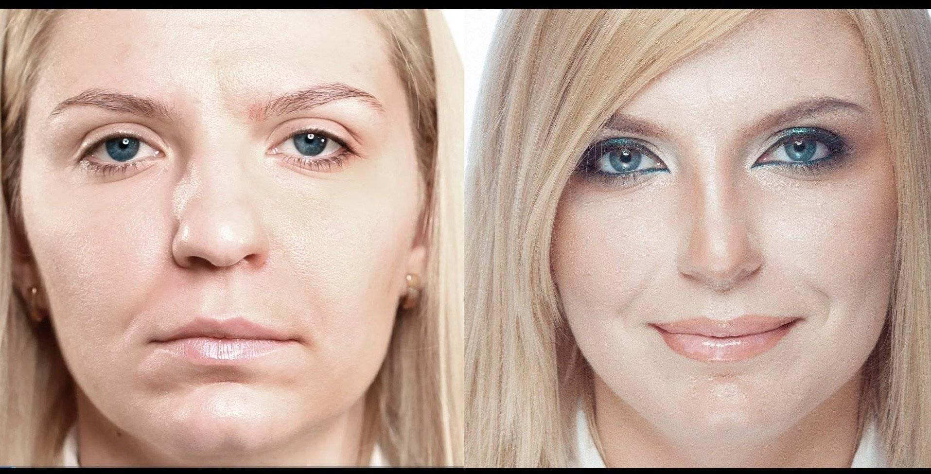Уменьшить нос с помощью макияжа - советы по визуальной коррекции и нанесению макияжа - твое-личико