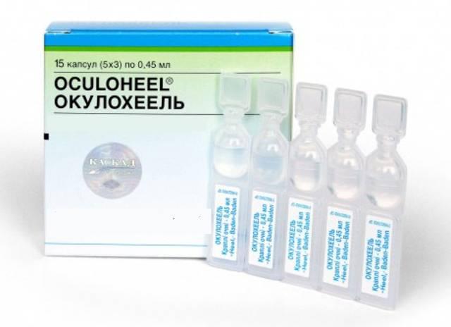 Применение глазных капель окулохель в офтальмологии