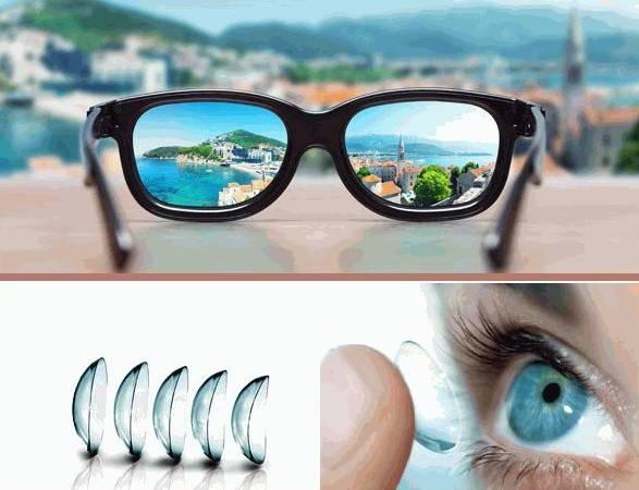 Очки или линзы – что лучше выбрать при близорукости и носить для глаз