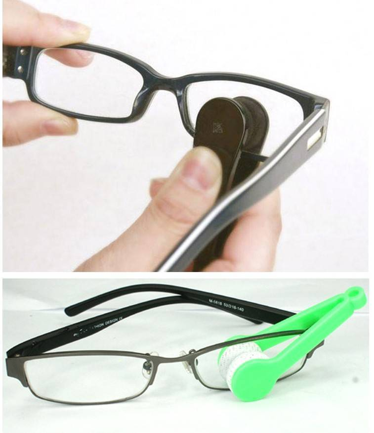 Как помыть очки - wikihow
