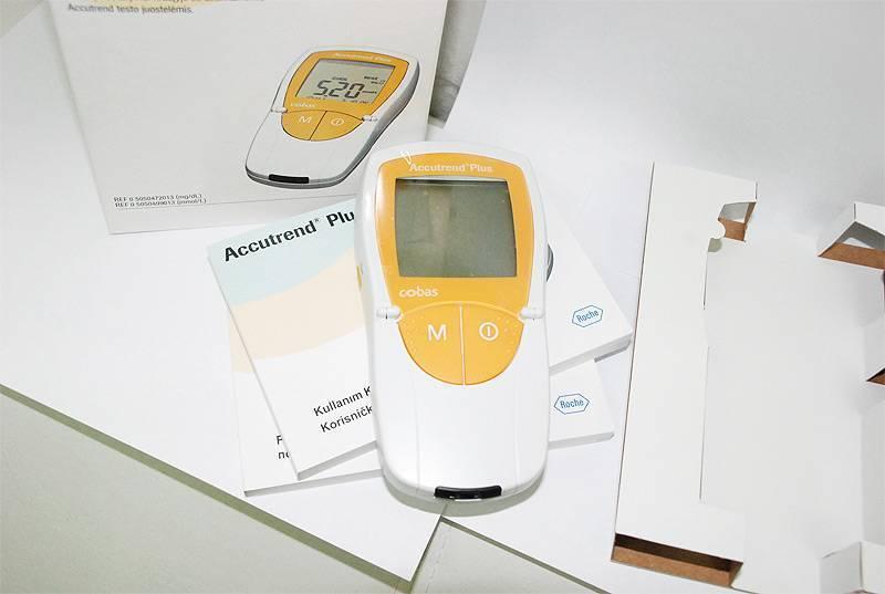 прибор проверки холестерина