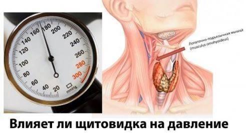 Щитовидка и повышенное давление
