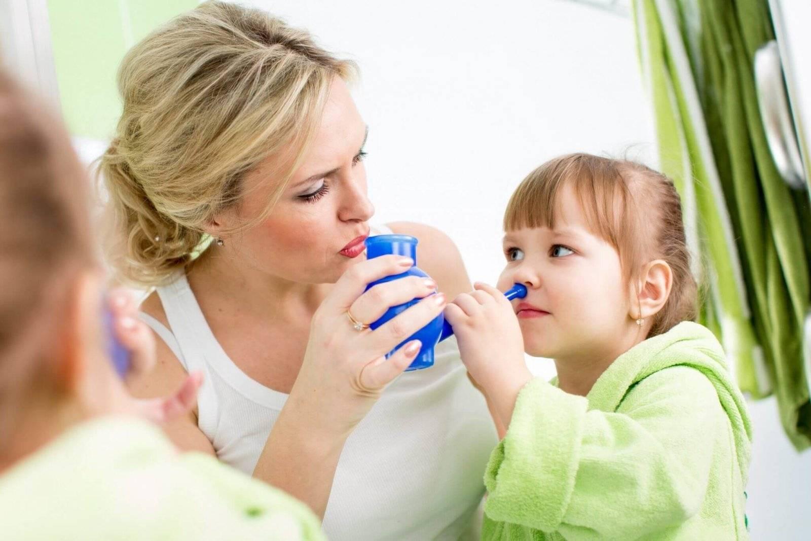 чем лучше промывать нос при заложенности
