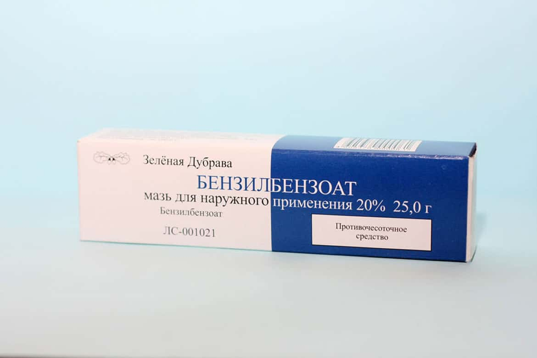 бензилбензоат против демодекса