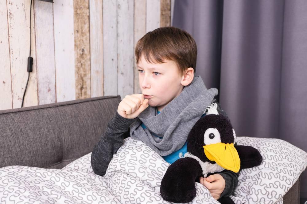 мокрый кашель ночью у ребенка