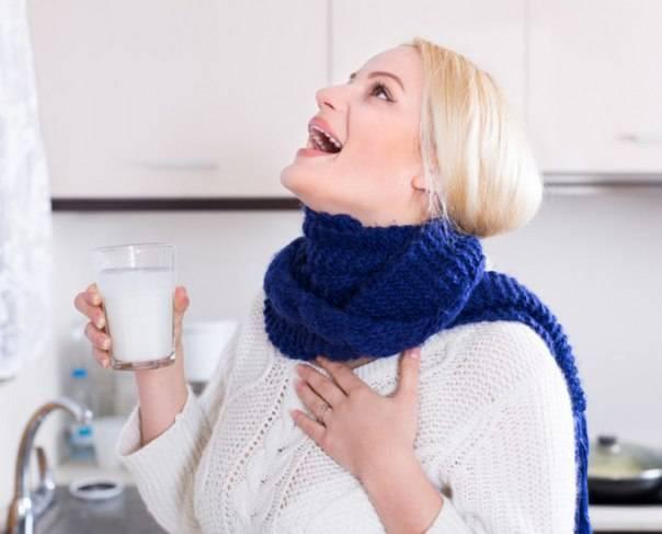 Полоскание горла при беременности: советы медиков и народные рецепты