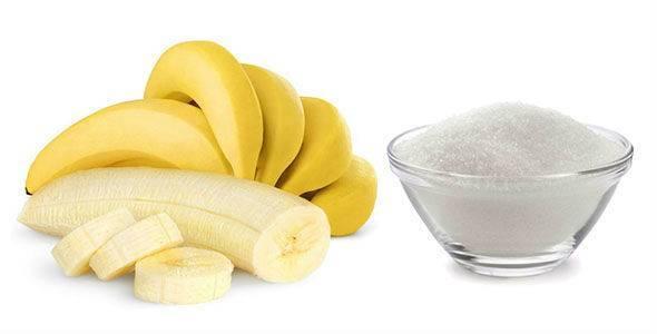 коктейль с бананом от кашля