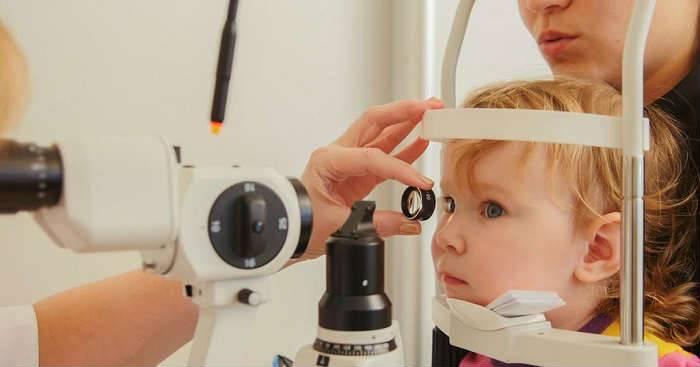 ленивый глаз у детей