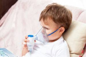 Ингаляции небулайзером при насморке у ребенка