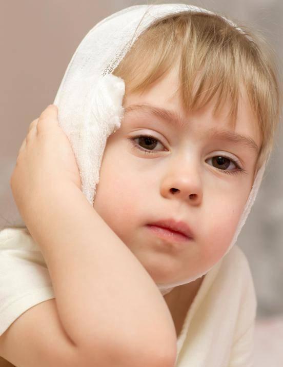 Лечение отита компрессом