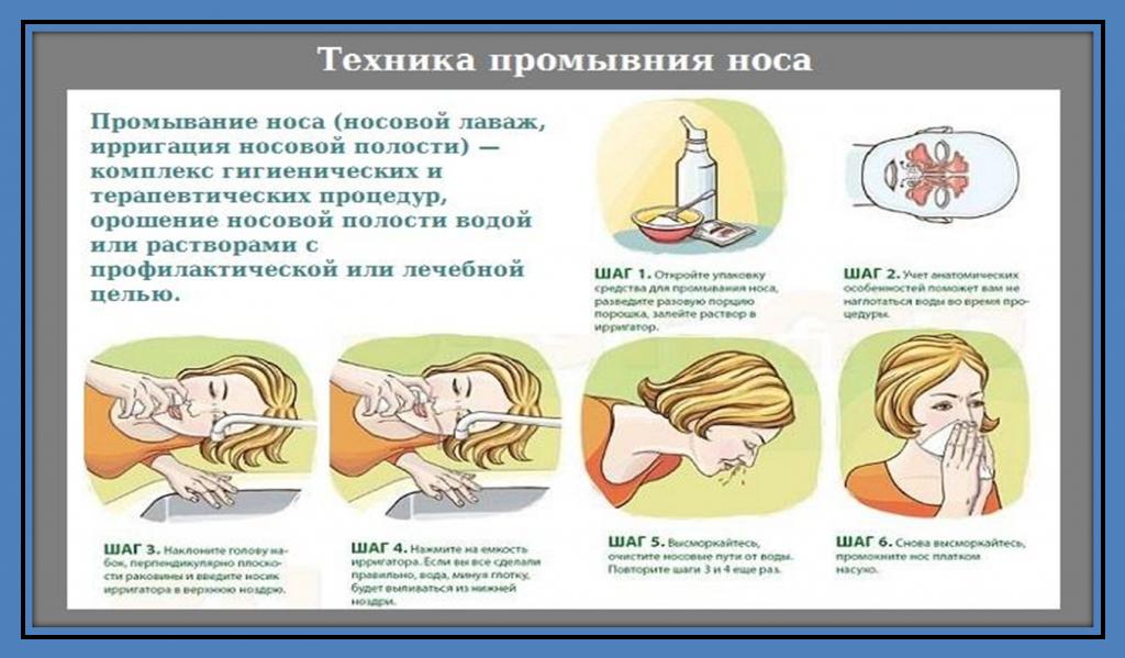 как приготовить раствор для промывания носа ребенку