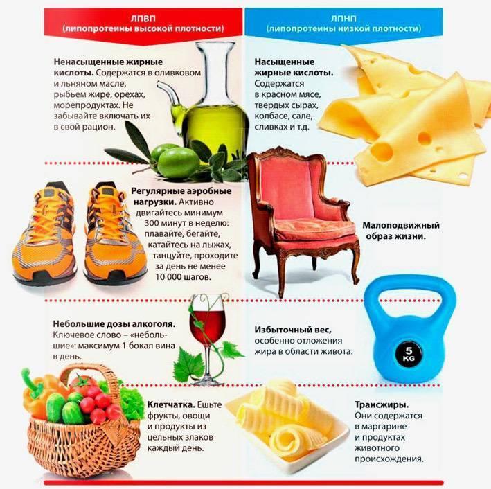 Что есть, чтобы понизить холестерин в крови?