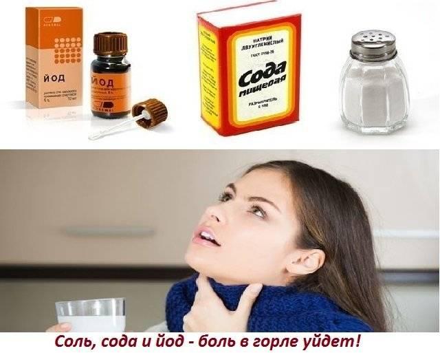 Приготовление раствора соды для полоскания горла взрослым и детям