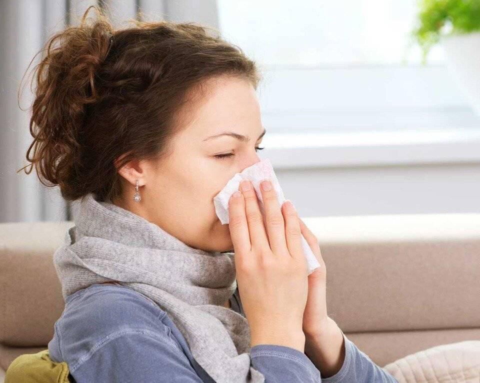 частое чихание и насморк