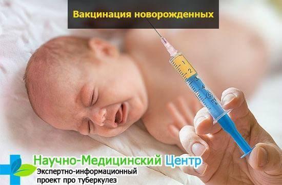 Какие первые обязательные прививки ставят в роддоме новорожденным при вакцинации