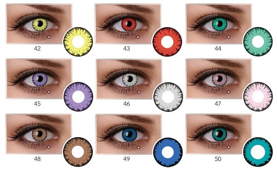 Как влияют на глаза цветные линзы