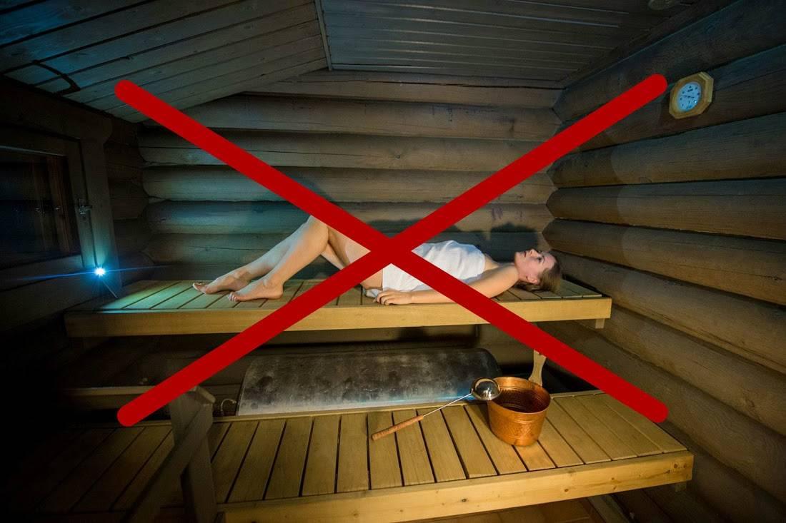 Посещение бани при ангине: польза или вред