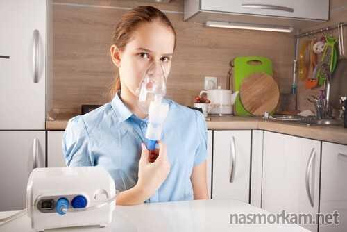 лечение насморка небулайзером у детей растворы