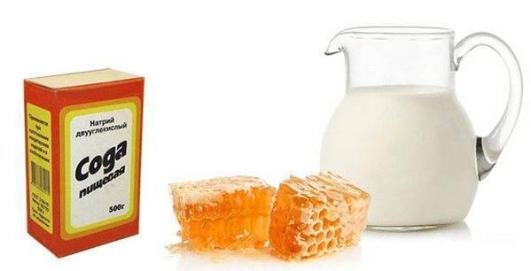 Молоко с содой от кашля – применение, рецепты