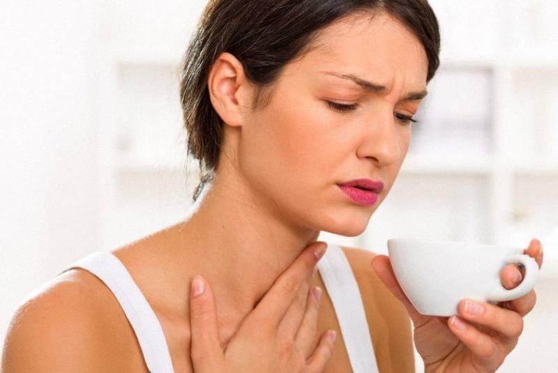 полоскать горло при беременности