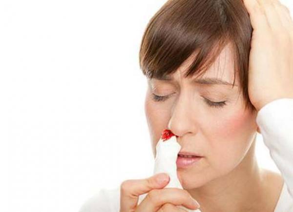 кровь из носа на ранних сроках беременности