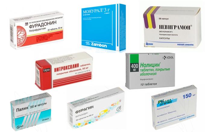 Таблетки от цистита у женщин