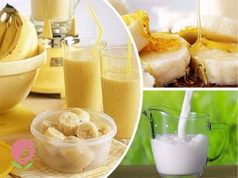 Банан от кашля: рецепты для взрослых и детей