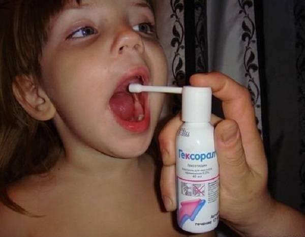 Чем лечить горло годовалому ребенку комаровский