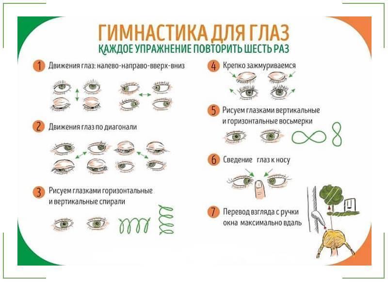 зарядка для глаз при близорукости для детей