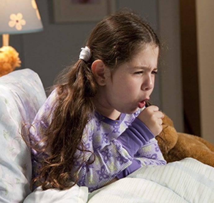 лающий кашель у ребенка ночью