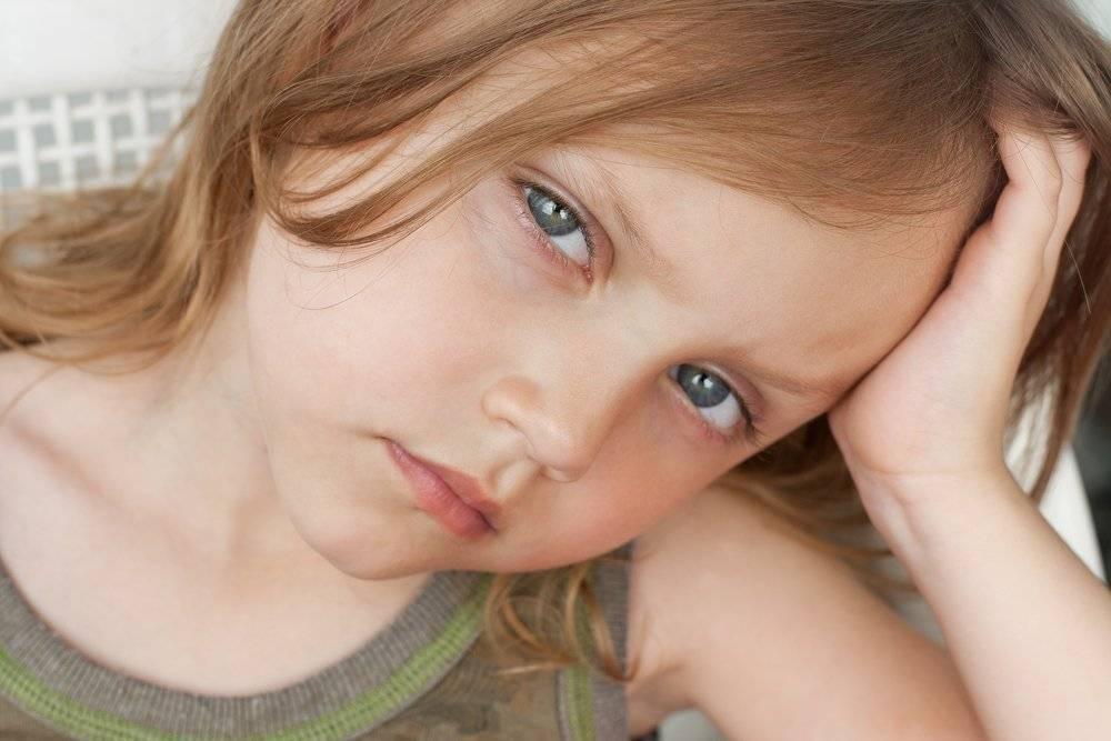 у ребенка синяки под глазами 2 года