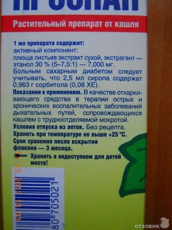Таблетки от кашля инструкция по применению детям